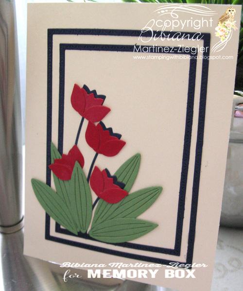 Red tulips last