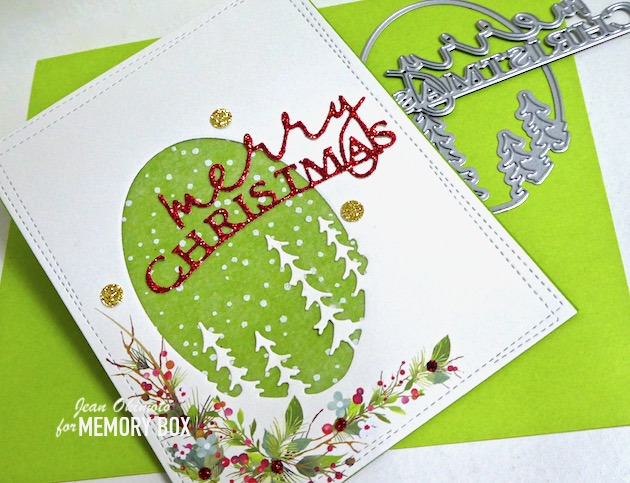 94503 Small Pine Tree Collage craft die