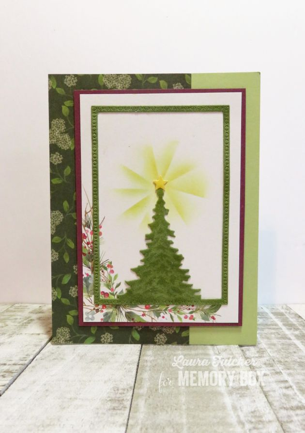94479 Single Pine Tree Frame craft die