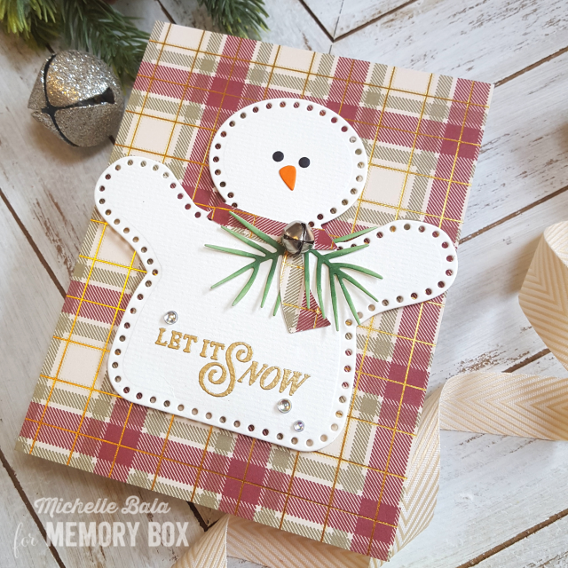 PP1009 Christmas Plaid 6x6 pack