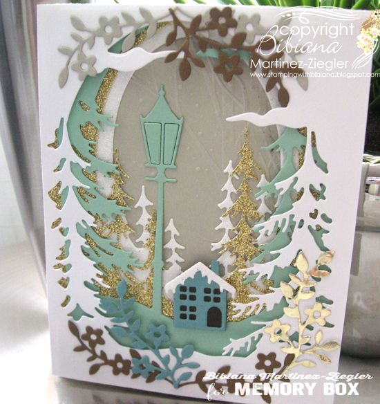 94500 Evergreen Sky Collage craft die