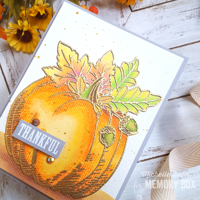 CL5264 Halloween Pumpkin clear stamp set