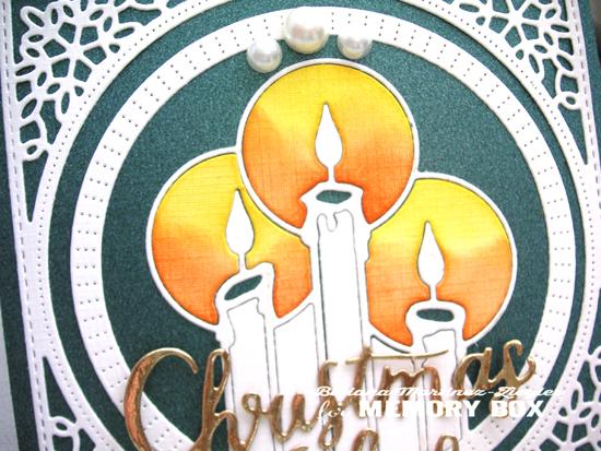 Xmas candles detail