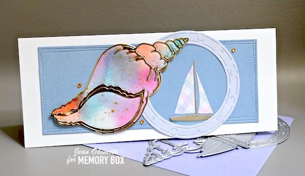 MemoryBoxMarinaSailboats, MemoryBoxGrandTulipShell, MemoryBoxWrappedStitchedSlimRectangles, MemoryBoxPastelJewels, MemoryBoxOceanPorthole, MemoryBoxEarthNeutral6x6Pack, MemoryBoxStormyBlue6x6Pack, MemoryBoxSpringPlaid6x6Pack, MemoryBoxPolishedFoilPack, JeanOkimoto, HandmadeCards, HandmadeOceanCards, HandmadeNauticalCards, ShellDiecuts, ShellCards, SlimlineCards, DiecutCards, HandmadeSlimlineCards, ImpressCardsAndCrafts, StampsAndMemoriesHawaii