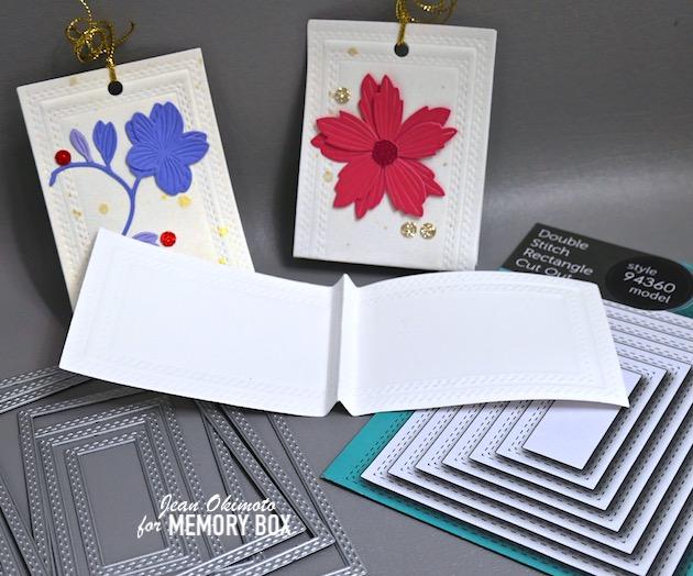MemoryBoxDreamyFreesia, MemoryBoxLayeredFreshFlowers, MemoryBoxLayeredDaisies, MemoryBoxDoubleStitchRectangleCutOut, MemoryBoxBerryRed6x6Pack, MemoryBoxOceanBlue6x6Pack, MemoryBoxStormyBlue6x6Pack, MemoryBoxHolidayGlitterPad, TreatWrappers, DiecutTreatWrappers, FlowerDiecuts, DiecutFlowers, DiecutFlowerCrafts, ImpressCardsAndCrafts, StampsAndMemoriesHawaii, JeanOkimoto
