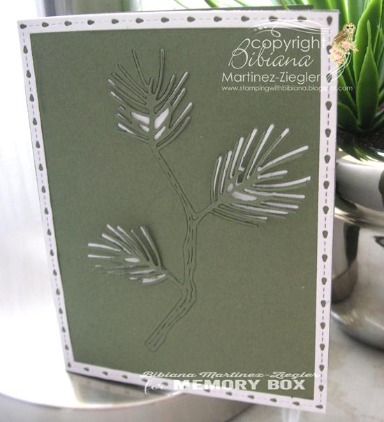 Green pine cas front
