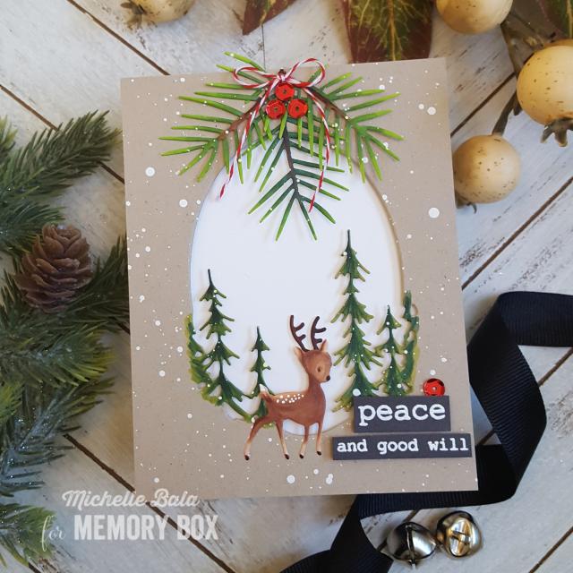2020 Memory Christmas Cards Outside The Box: Christmas