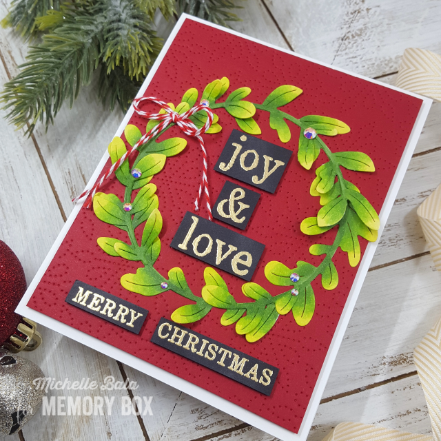 CL5263 Christmas Tiles clear stamp set