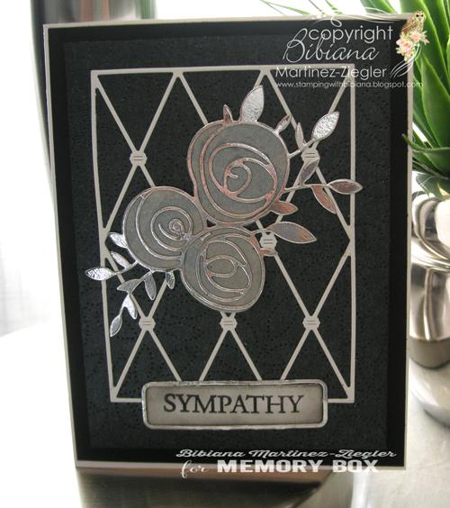 Sympathy rose front
