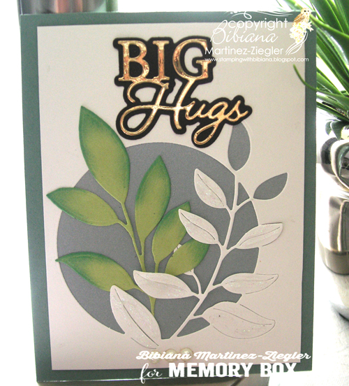 94528 Big Hugs Posh Script craft die