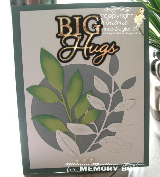 Blue leaves big hugs last