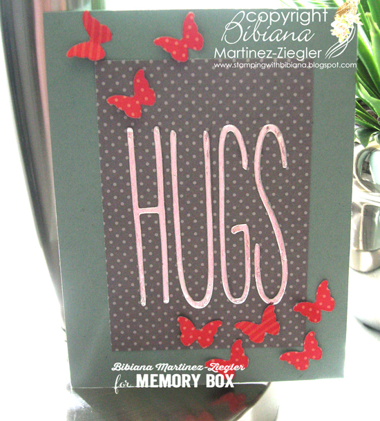Hugs butterflies front