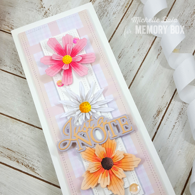 94472 Layered Daisies craft die