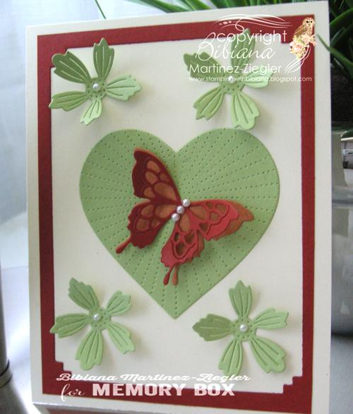 Green heart front
