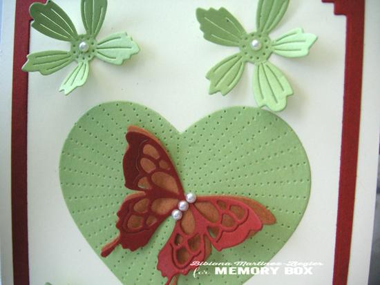 Green heart detail