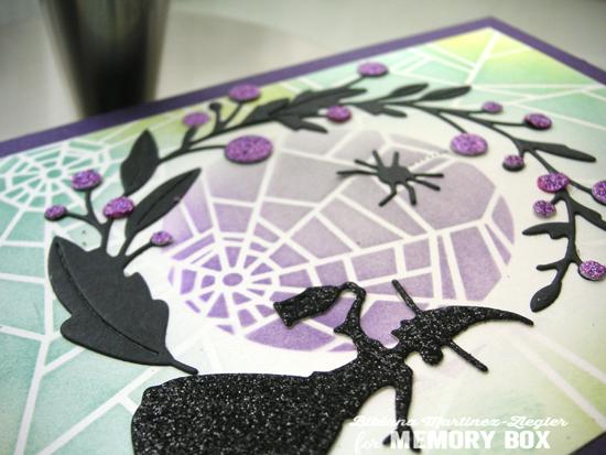 Web witch detail shine
