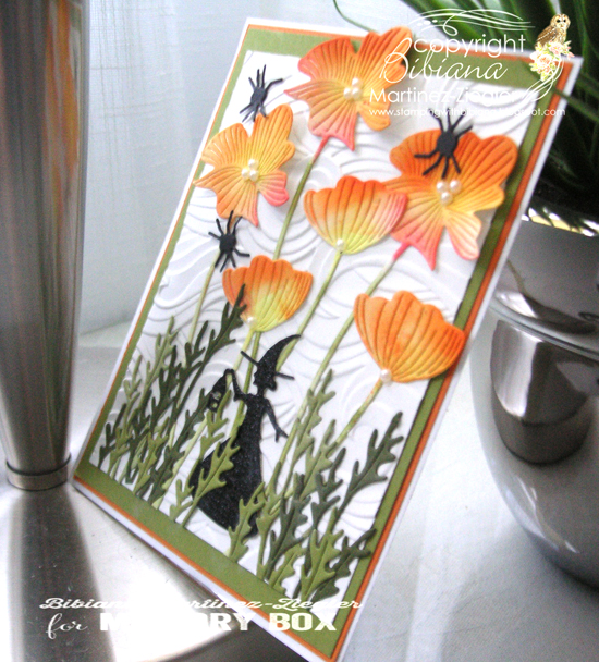Poppies witch side