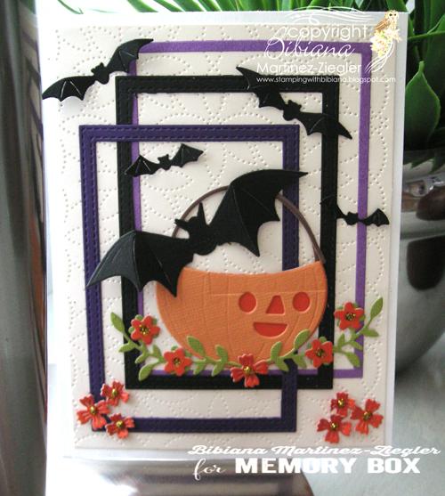 Halloween pumkin bucket front