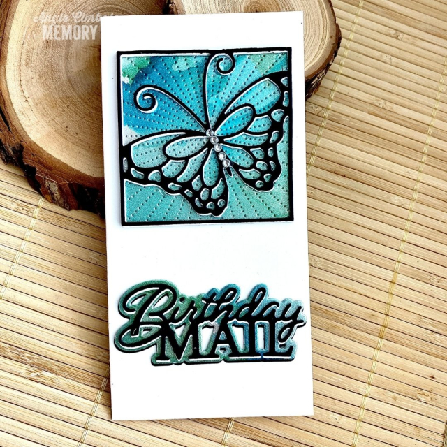 94477 Stained Glass Butterfly craft die