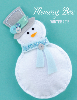 Memory Box 2015 Winter Catalog