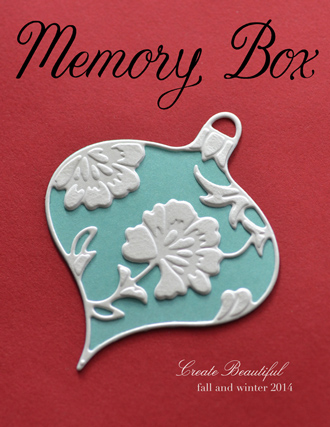 Memory Box 2014 Holiday Catalog